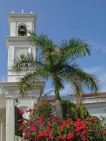 Church in Suchitlan El Salvador