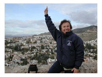 Lois overlooking Spain