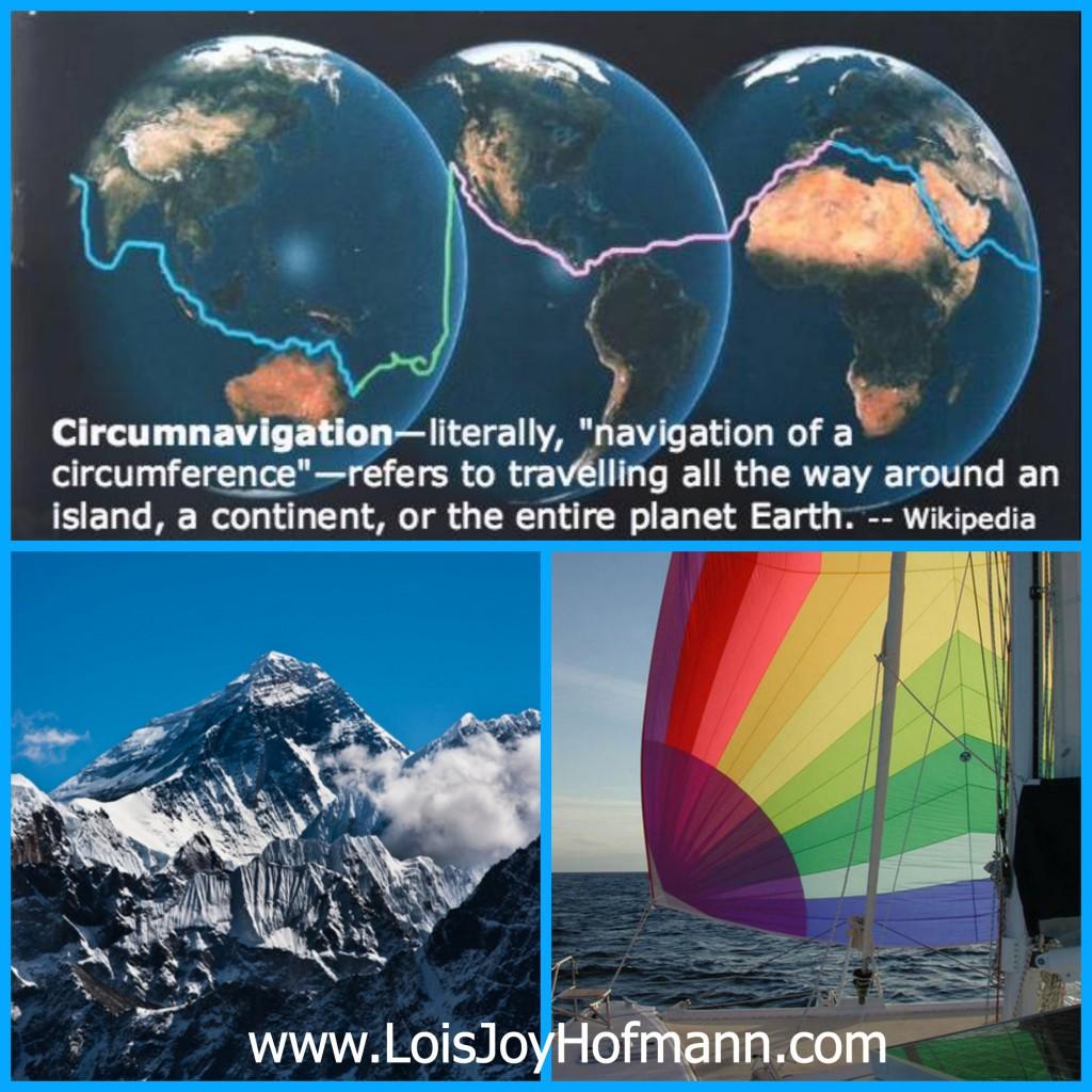 Lois Joy Hofmann Circumnavigation Sailing