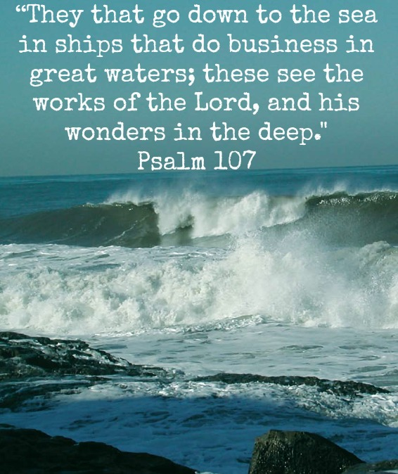 www.loisjoyhofmann.com psalm sea quote