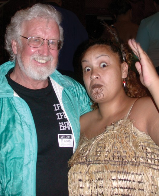 Gunter with Maori Woman