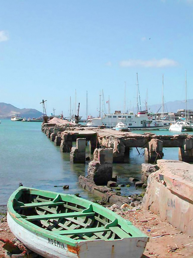 We came across this Old Coal Ship Dock in Mindelo Cape Verde.