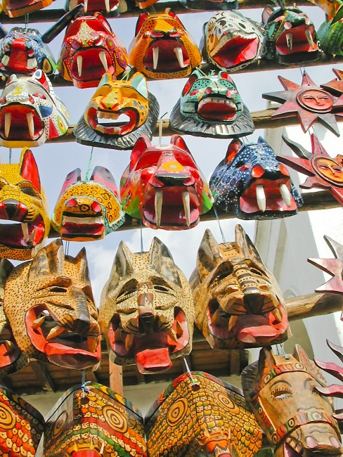 Masks of the Guatamala Highlands