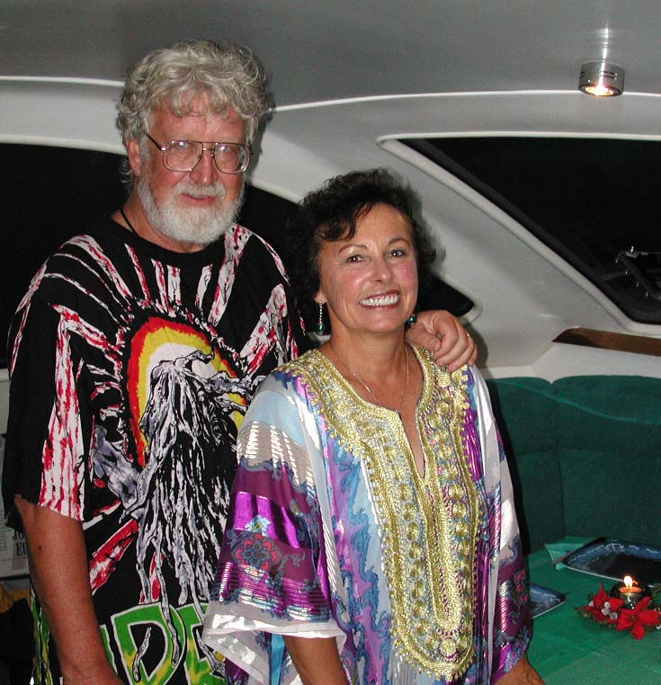 Lois and Gunter Going Hippie Style on Pacific Bliss