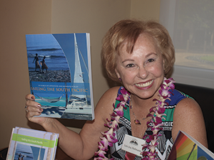Lois Joy Hofmann is the author of, Maiden Voyage and Sailing the South Pacific, the first two books in a trilogy called In Search of Adventure and Moments of Bliss. Each book won first place in the travel category of the 2011 and 2013 San Diego Book Awards, respectively.