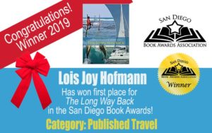 Author Lois Joy Hofmann San Diego Book Awards Association