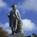 Captain Cook in Christchurch New Zealand